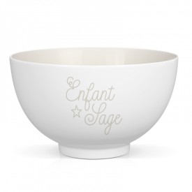 "Porcelain bowl ""Enfant sage"""
