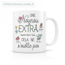 Customizable Nanny Mug