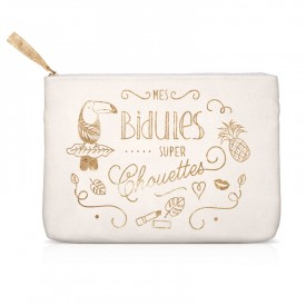 Padded pouch Bidules super chouettes