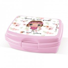 Lunch Box Natrue freindly girl