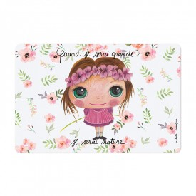Placemat Nature girl