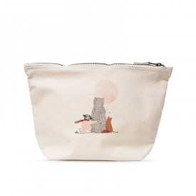 Large pouch: Moon girl