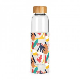 "Glass bottle ""Abstract"""