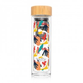"Infuser bottle ""Abstract"""