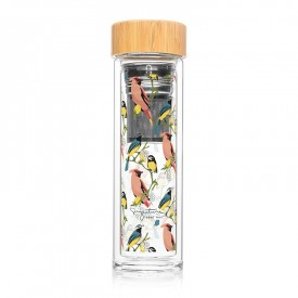 "Infuser bottle ""Birds"""