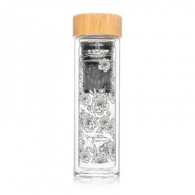 "Infuser bottle ""Peonies"""
