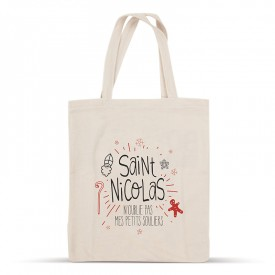 Saint Nicolas cotton bag