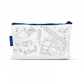 Coloring pencil case Space travel