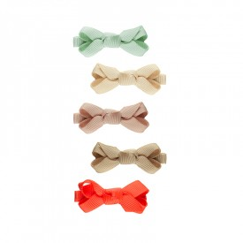 Mini Florence bow hair clips