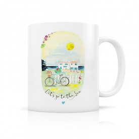 "Mug ""Let's go to the sea"""