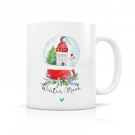 Mug Winter Mood - snow Ball