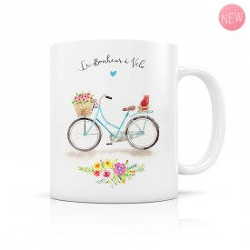 Mug Happiness by bike