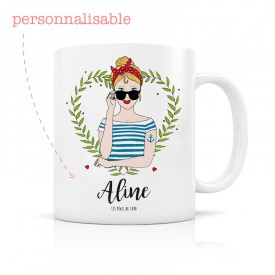 Personalized mug women