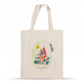 Let's go surfing cotton bag