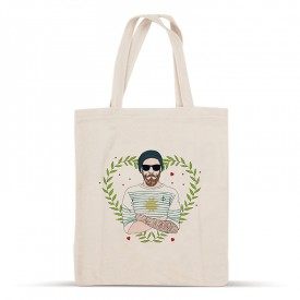 Hipster cotton bag