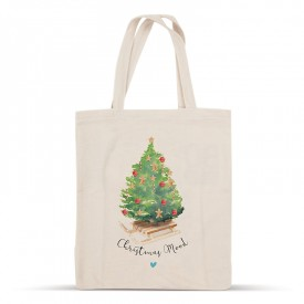 Christmas cotton bag