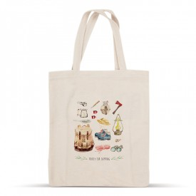 «Ready for camping» cotton bag