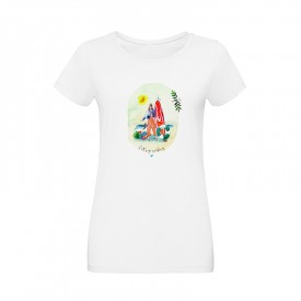 "Tee-shirt ""Let's go surfing"""
