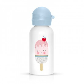 Children flask ice cream for child