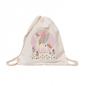 Cotton tote bag: Unicorn