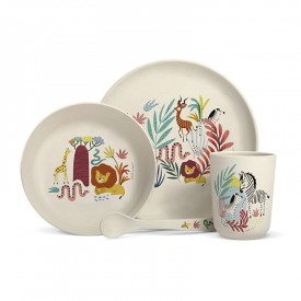 Bamboo fibre dinner set Savannah