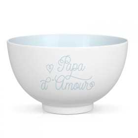 "Porcelain bowl ""Papa d'Amour"""
