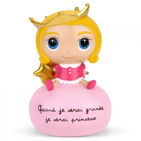 Money box Quand je serai grande, je serai princesse