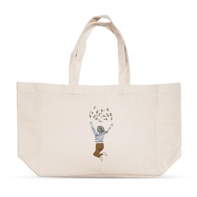 Shopping bag: Flower child