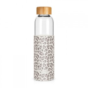 "Glass bottle ""Leopard"""