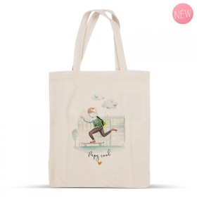 «Papy cool» cotton bag