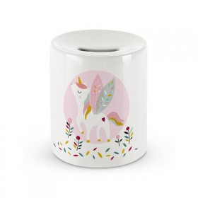 Ceramic moneybox: Unicorn