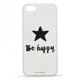 Iphone case 5 : Be Happy by Créa bisontine