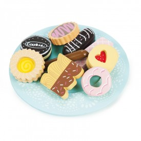 Biscuit & Plate Set by Le toy van