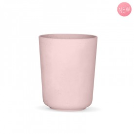 Cherry pink vegetal glass by Label'tour créations
