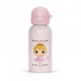 Children flask Ballerina girl