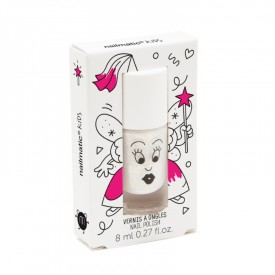 Nail varnish: Pearly white by Nailmatic Kids