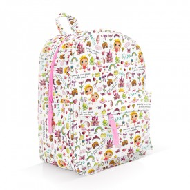 Princess patterned backpack by Isabelle Kessedjian