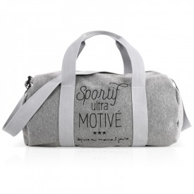 "Sport bag ""Sportif ultra motivé"" by Créa bisontine"
