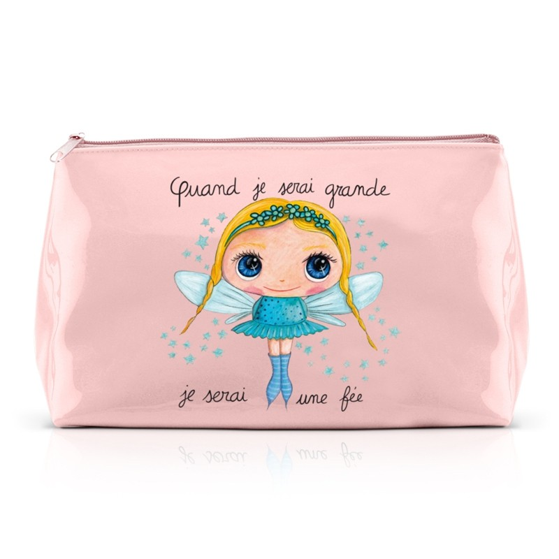 Large pencil case Fairy by Isabelle Kessedjian
