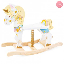 Rocking unicorn carousel by Le toy van