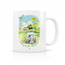 "Mug ""Let's go to the Mountain"""