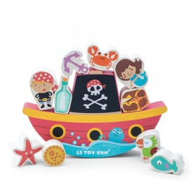 Pirate Balance 'Rock'n' Stack' by Le toy van