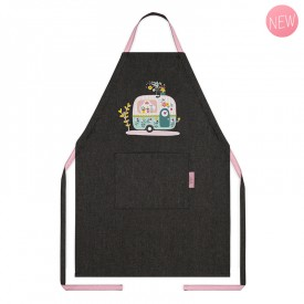 Child's apron Caravan by Zabeil