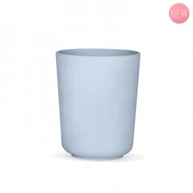 Blue myosotis vegetal glass by Label'tour créations