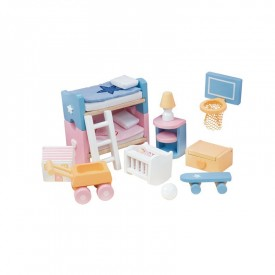 Sugar Plum Kid's bedroom by Le toy van