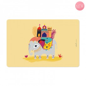 Placemat Elephant by Zabeil