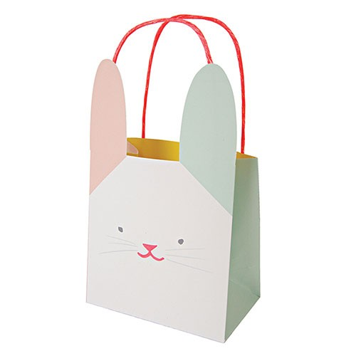 8 bunny party bags by Meri Meri