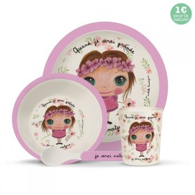 Bambou dinner set: Nature Girl