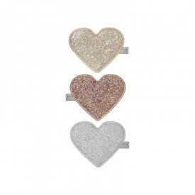 Glitter sweetheart clips
