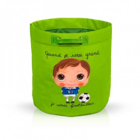 Toys bag Footballer by Isabelle Kessedjian